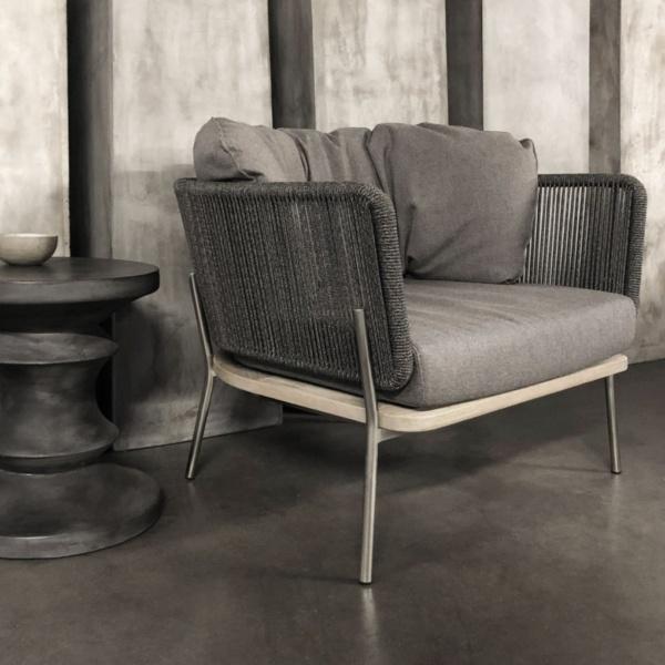 studio vertical rope relaxing chair