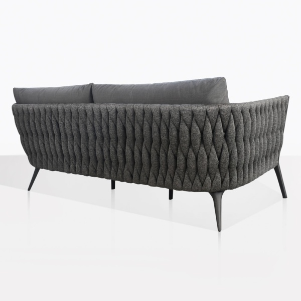 Bianca Outdoor Sofa With Cushions Back
