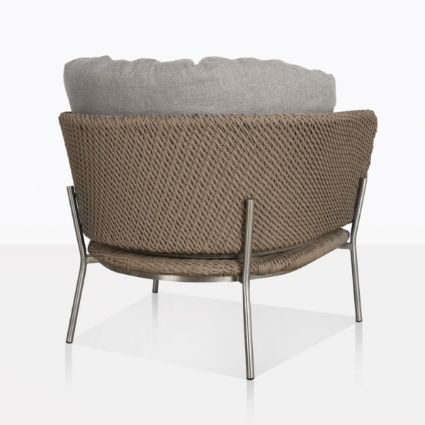 Studio Cyprus Rope Outdoor Lounge Chair Back