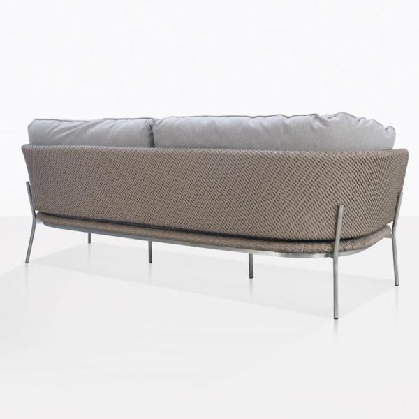 Studio Cypruse Rope Outdoor Sofa Back