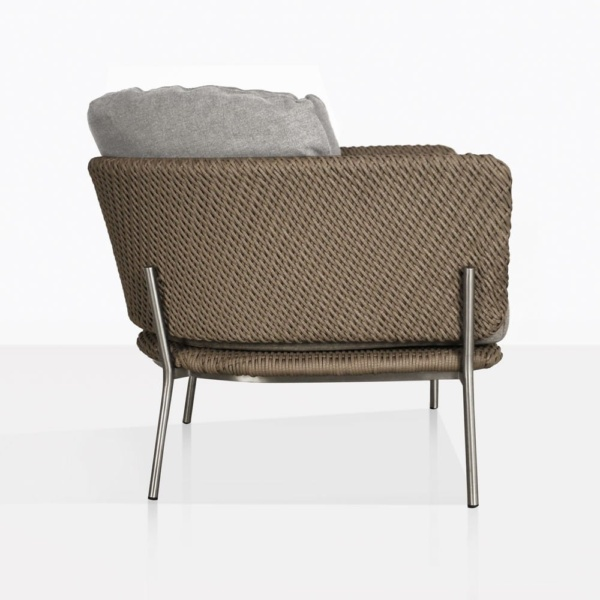 Studio Cyprus Rope Outdoor Lounge Chair Side
