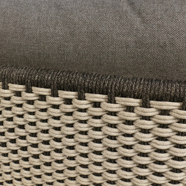 Studio Rope Outdoor Sofa Closeup