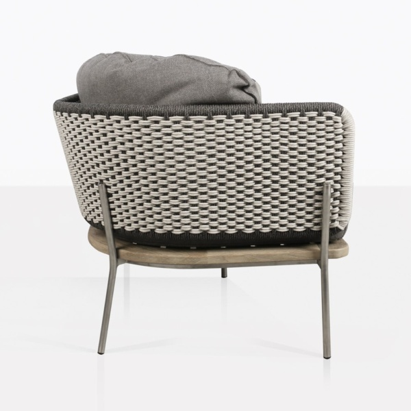Studio Two Tone Rope Outdoor Sofa Side