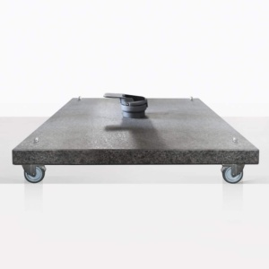Antigua Granite Square Outdoor Umbrella Base