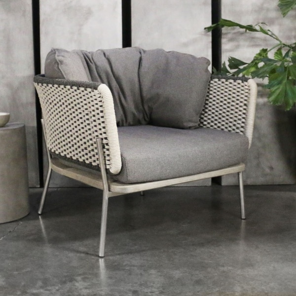 two tone studio relaxing chair
