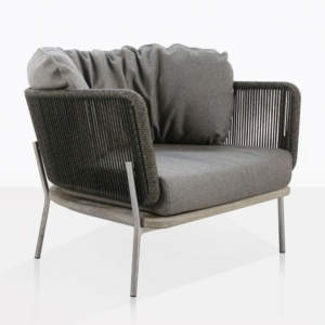 Studio Outdoor Lounge Chair With Cushions