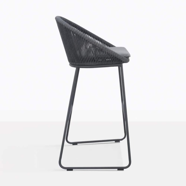 Urban Outdoor Bar Stool Side