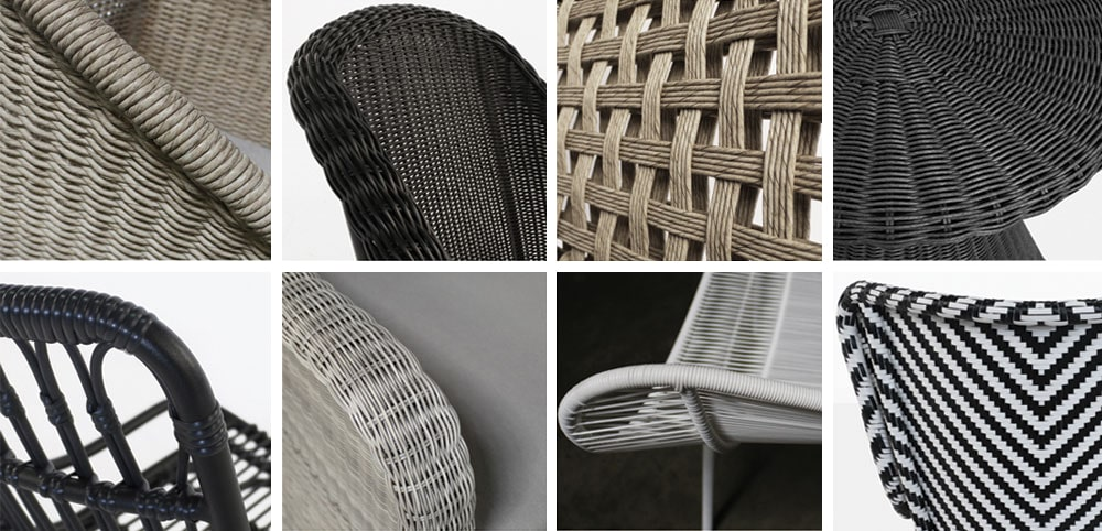 Wicker Furniture Closeups