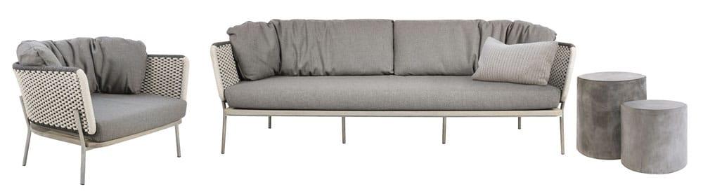 Studio Two Tone Sofa And Club Chair