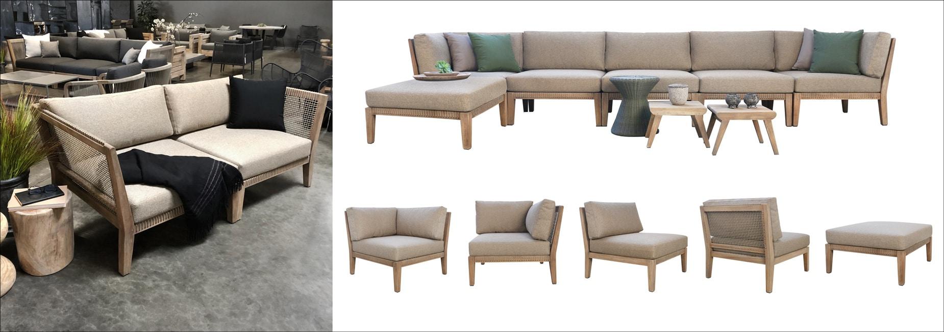 Gazzoni Teak Furniture Collection