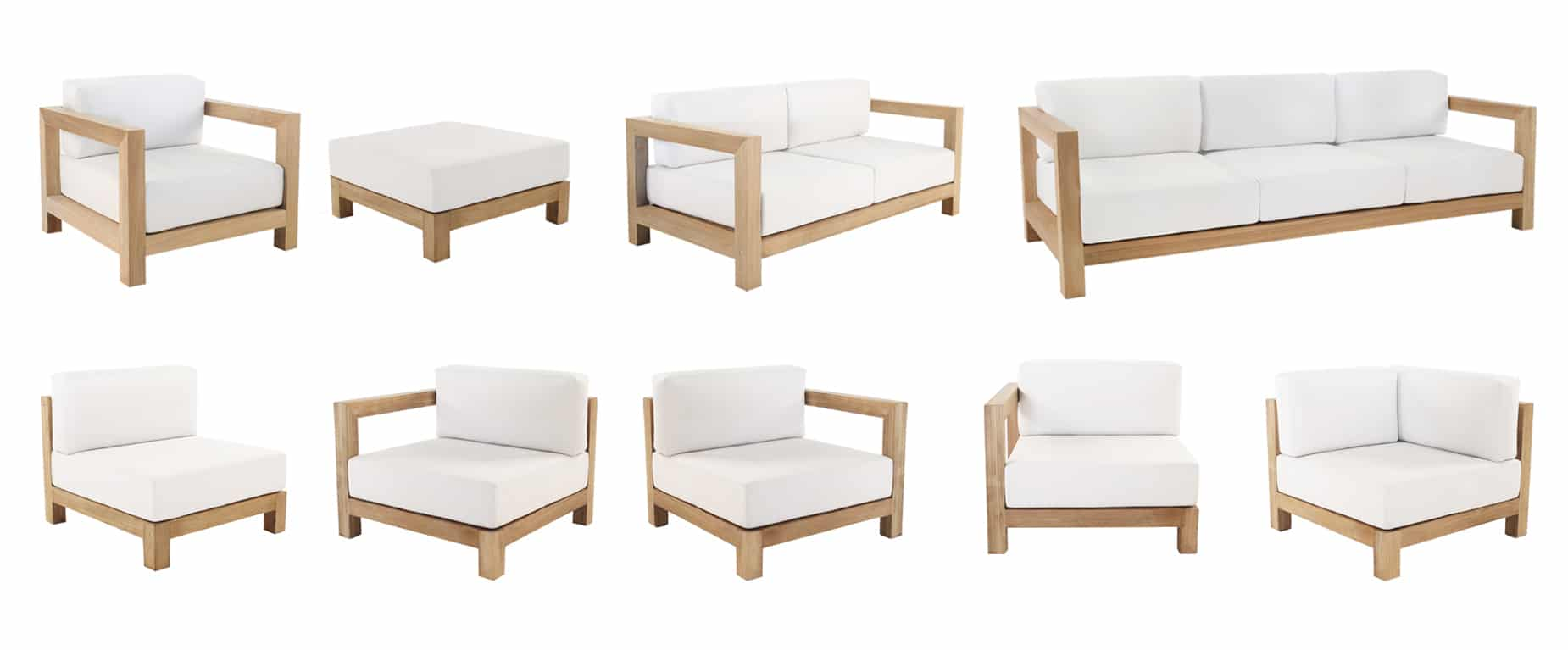 Ibiza Teak Furniture Pieces