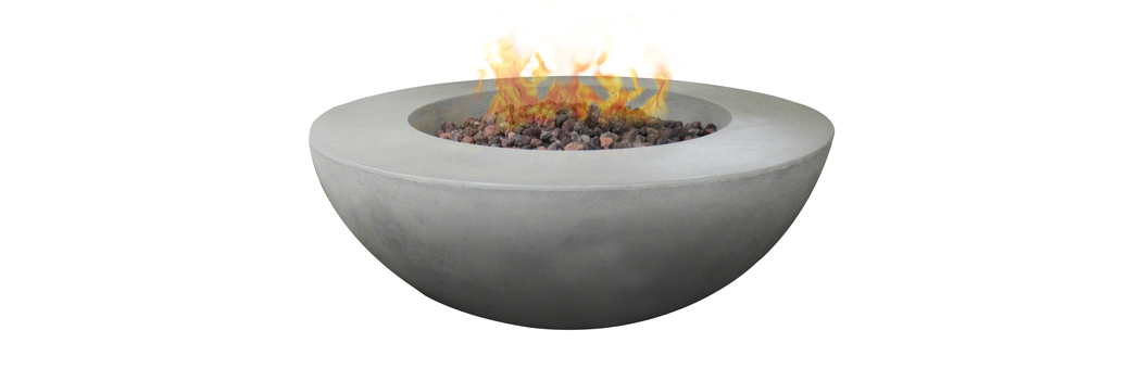 Design Warehouse Concrete Round Fire Pit