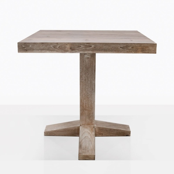 Cube Teak Bistro Dining Table
