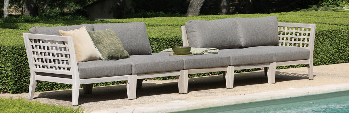 The Masello Outdoor Teak Furniture Collection