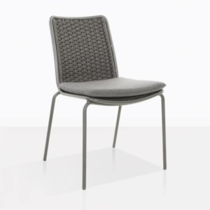 Kerri Rope Dining Side Chair Angle