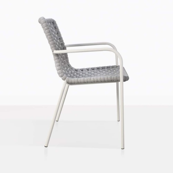 side view - - Terri arm chair
