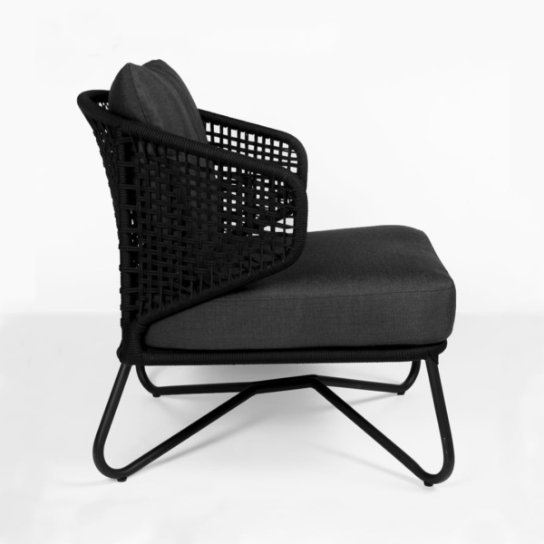 side view Candice outdoor lounge chair