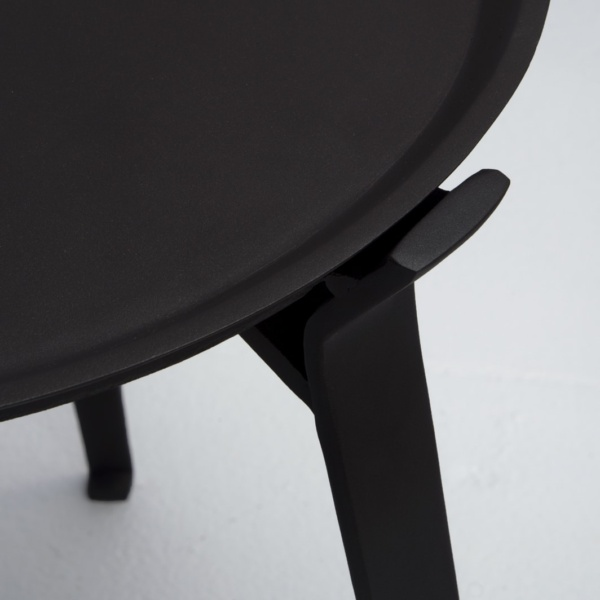 upclose view of dorsett outdoor table