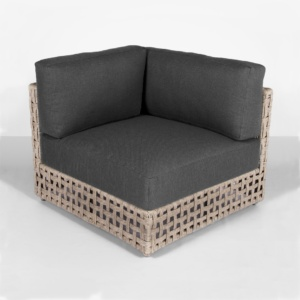 Logan natural outdoor sectional corner