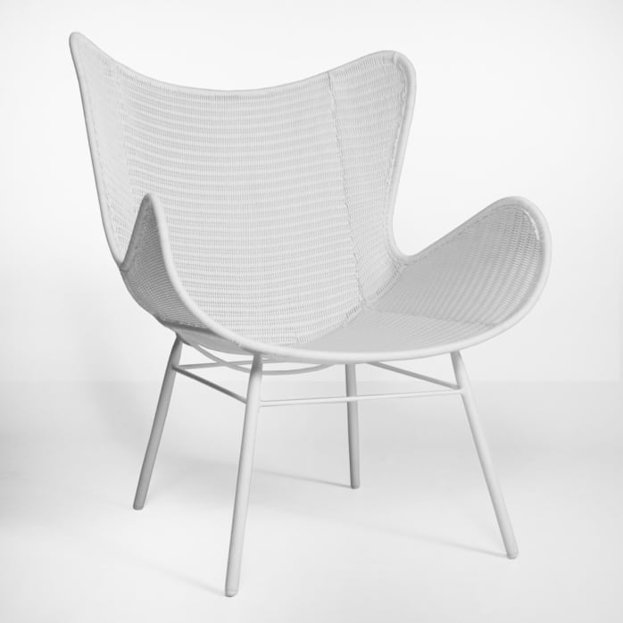 Nairobi outdoor pure wing wicker relaxing chair