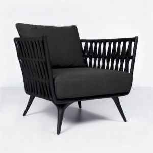 Westchester outdoor relaxing rope chair