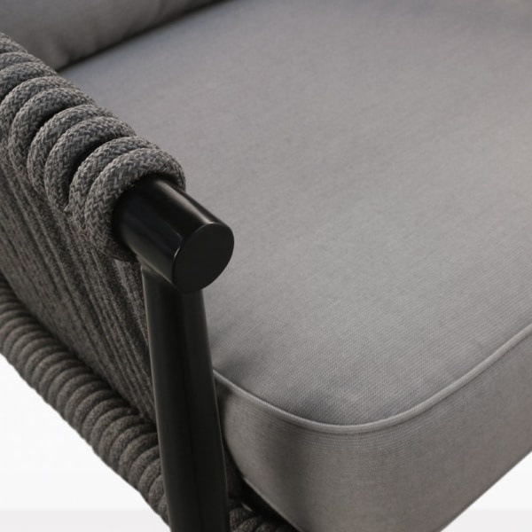 arm view - archi rope chair