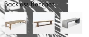 backless bench blog