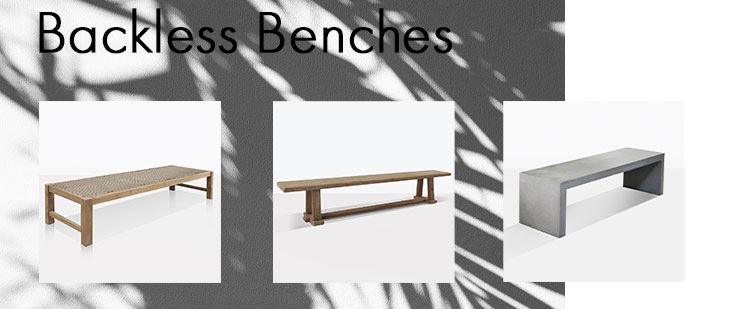 backless bench blog