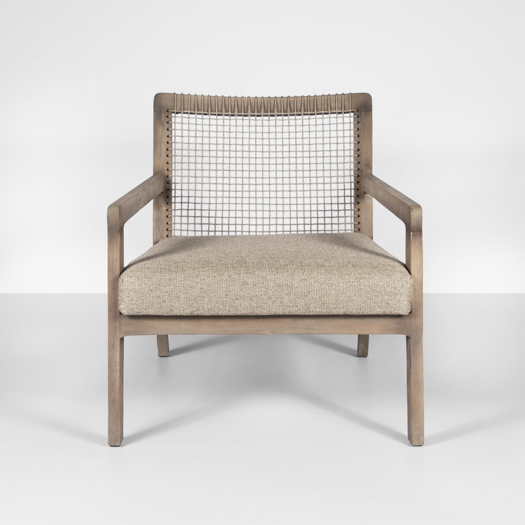 Gazzoni Teak and Rope Outdoor Relaxing Chair | Design ...