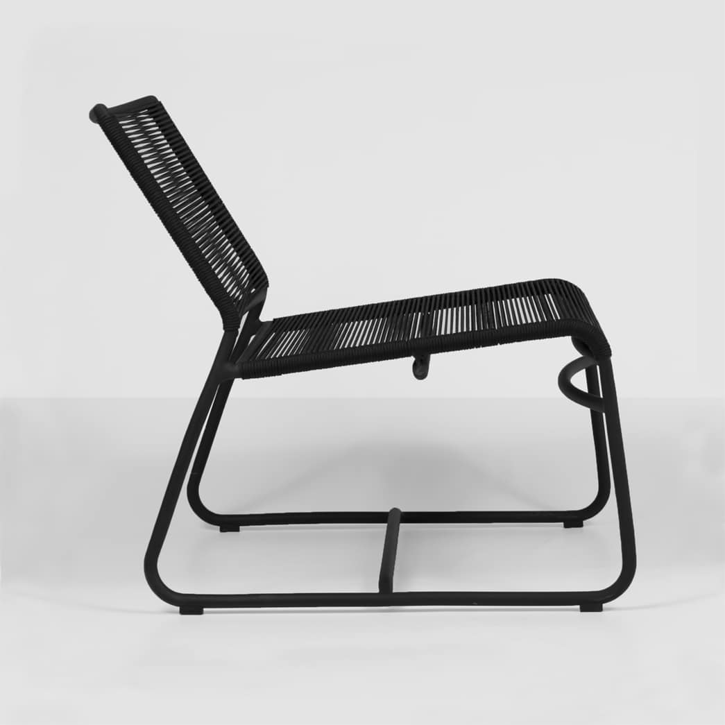 Relaxing Chair Design: Komodo Black Outdoor Relaxing Chair