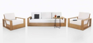 Kuba Teak Deep Seating Furniture Collection