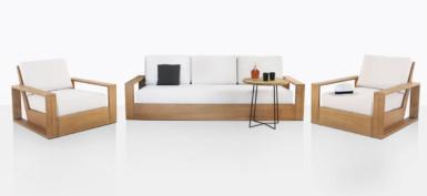 Kuba Teak Deep Seating Furniture Collection