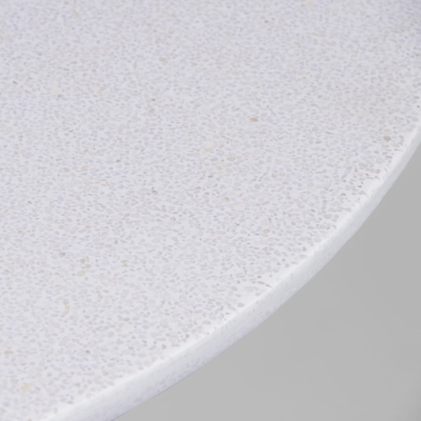close-up verbena concrete table top