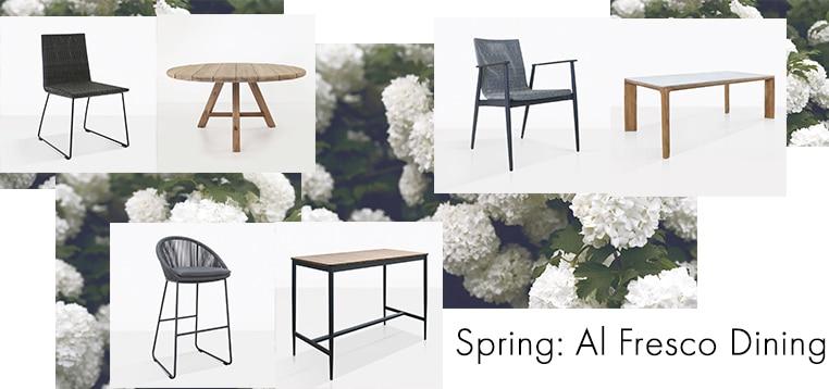Spring Alfresco Dining Graphic photo