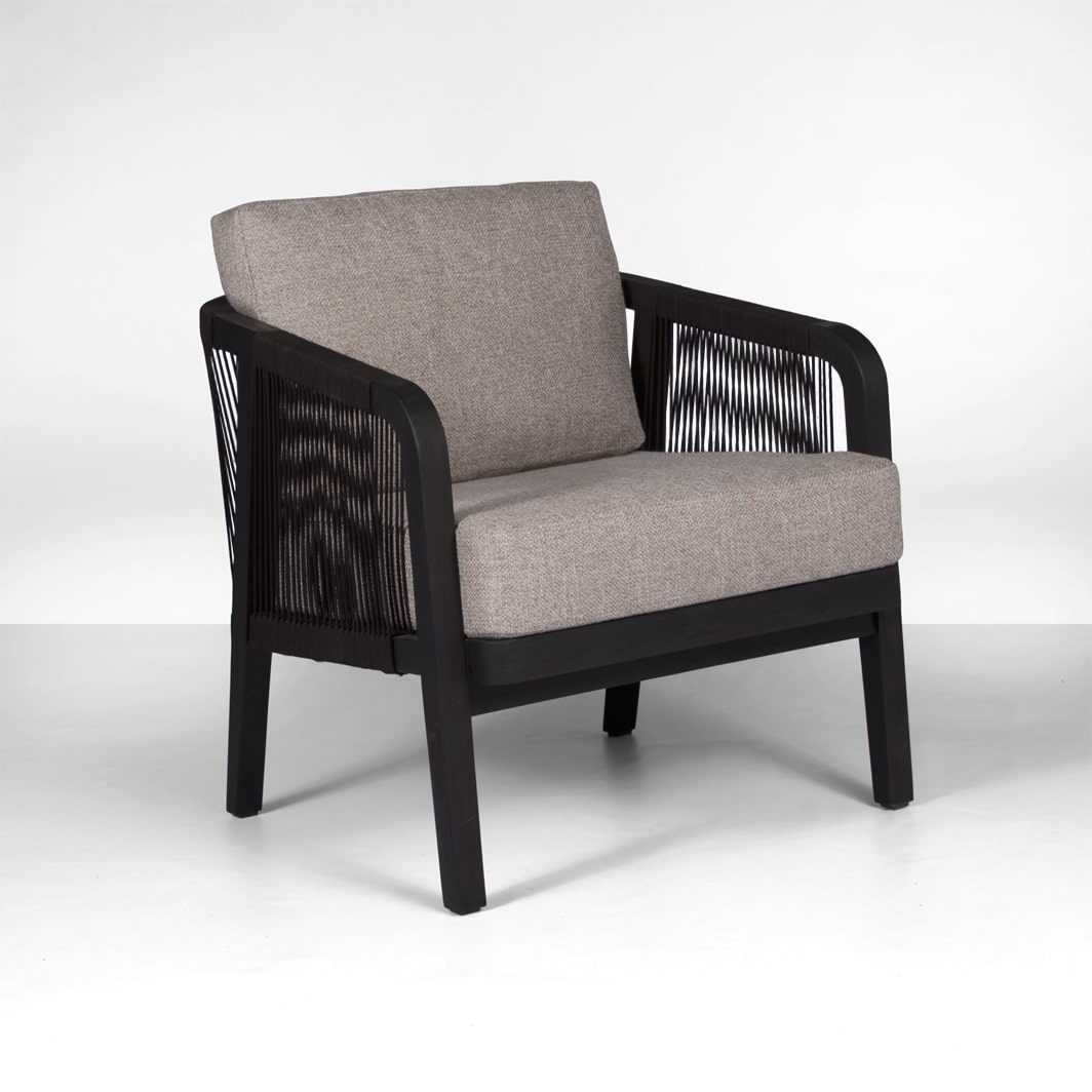 Brentwood Outdoor Relaxing Chair In Ebony Espresso