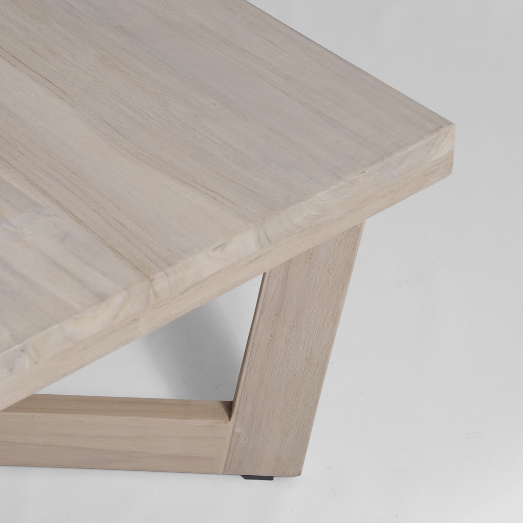 Coco Reclaimed Teak Square Coffee Table | Design Warehouse NZ