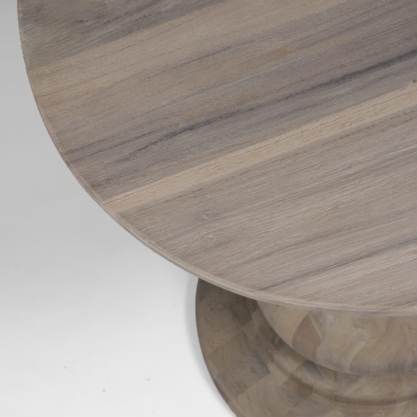 earthy teak table top - sumatra