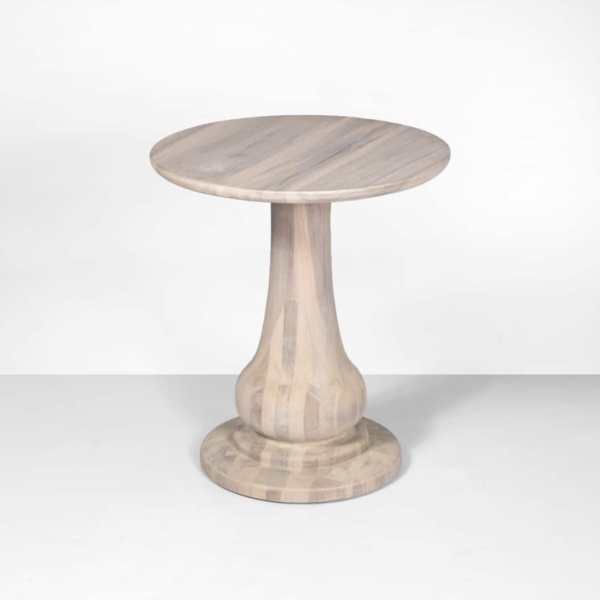 sumartra outdoor natural side table (tall)