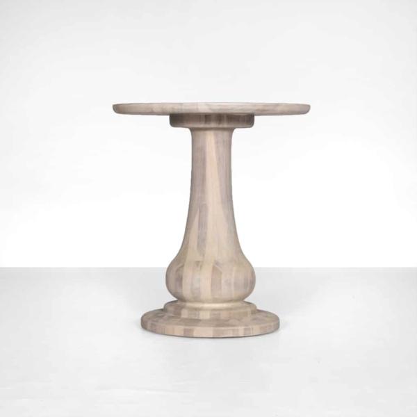 natural teak side table - sumatra