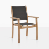 Tango Black Stacking Chair