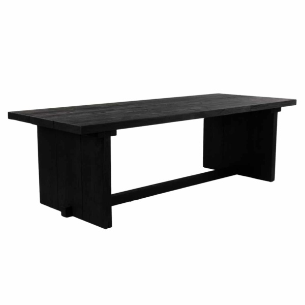 black table outdoor dining furniture auckland