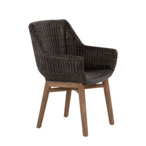 James dining chair - outdoor furniture wicker