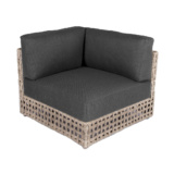 Logan Wicker Sectional Corner