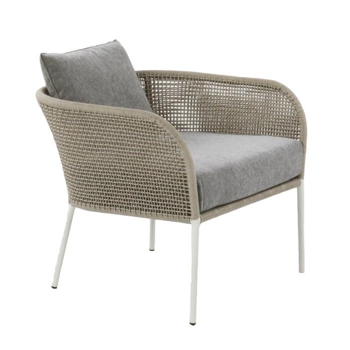 light color arm chair - scottie