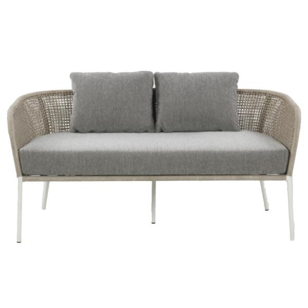 white sofa - scottie - outdoor furniture nz