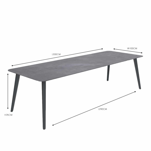 Kove Black Dining Table nz