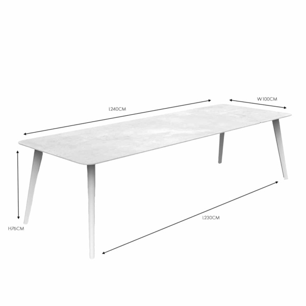 Kove White Dining Table nz