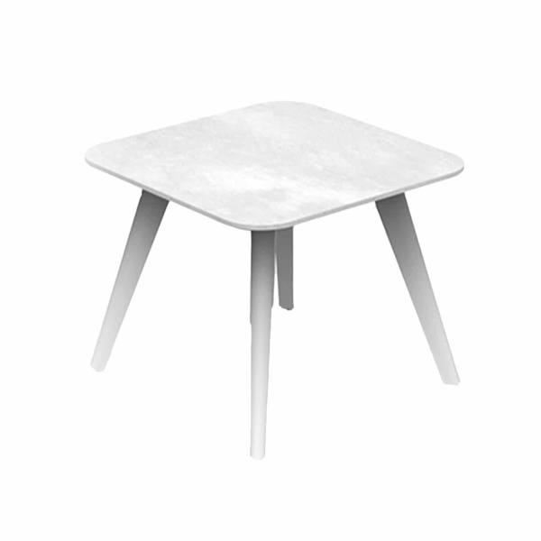 Kove Side Table in white