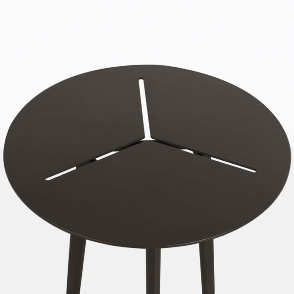 Lona black side table nz