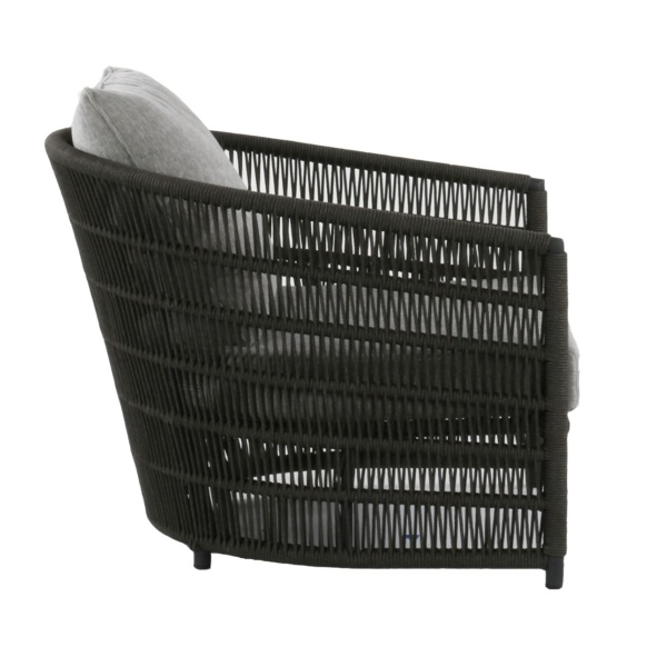 charcoal rope relaxing chair - Tammy